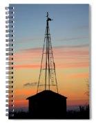 Tower Sunrise Spiral Notebook