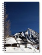 Towering Above Crested Butte Spiral Notebook