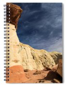 Towering Above The Landscape Spiral Notebook
