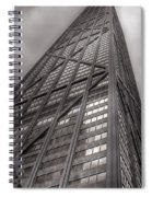 Towering John Handcock Building Spiral Notebook