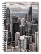 Towers Of Chicago Spiral Notebook