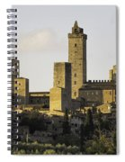 Towers Of San Gimignano Spiral Notebook