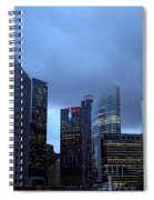 Towers Of Singapore Spiral Notebook