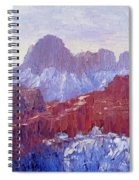 Towers Of The Virgin Valley Spiral Notebook
