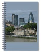 Towers Old And New Spiral Notebook