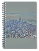 Towers To The Heavens Spiral Notebook