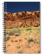 Towers To The Needles Spiral Notebook