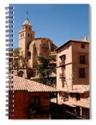 Town In The Red Sierra Spiral Notebook