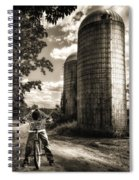 Town Line Spiral Notebook