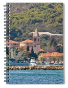 Town Of Kukljica On Ugljan Island Spiral Notebook