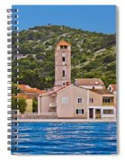 Town Of Tisno Waterfront Croatia Spiral Notebook
