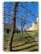 Town Of Varazdinske Toplice Center Park Spiral Notebook
