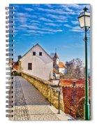Town Of Varazdinske Toplice Walkway Spiral Notebook