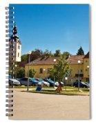 Town Of Vrbovec In Croatia Spiral Notebook