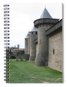 Town Wall - Carcassonne Spiral Notebook
