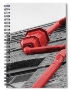 Toxic Rain Spout Spiral Notebook