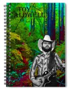 Toy Caldwell In The Woods Spiral Notebook