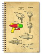 Toy Ray Gun Patent II Spiral Notebook