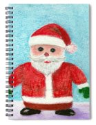 Toy Santa Spiral Notebook