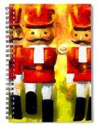 Toy Soldiers Nutcracker Spiral Notebook