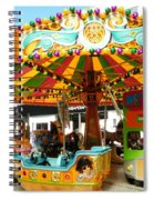 Toy Town Carousel  Spiral Notebook