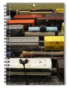 Toy Trains Spiral Notebook