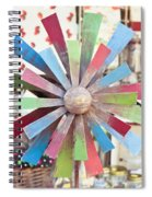 Toy Windmill Spiral Notebook