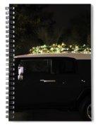 Toyota Fj Christmas Lights Spiral Notebook