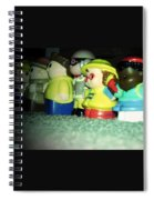 Toys In A Row Spiral Notebook