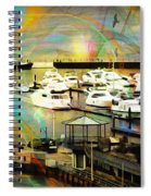 Toys Of The Sea Spiral Notebook