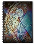 Toys Triptych Spiral Notebook