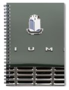 Tr3 Hood Ornament And Grill Spiral Notebook