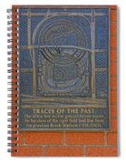 Traces Of The Past Busch Stadium Dsc01113 Spiral Notebook