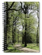 Track Trough The Woods Spiral Notebook