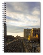 Tracks Philadelphia Spiral Notebook