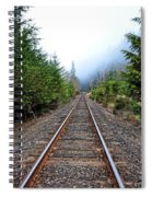 Tracks To No Where Spiral Notebook