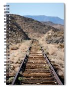 Tracks To Nowhere Spiral Notebook