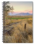Tracks To The Portneufs Spiral Notebook