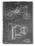 Tractor Patent Spiral Notebook