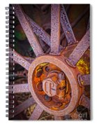 Tractor Spokes Spiral Notebook