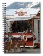 Tracys King Crab Shack Spiral Notebook
