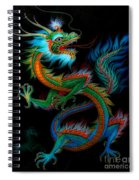 Tradition Asian Dragon Illustration 1 Spiral Notebook