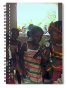 Traditional Dance And Singing Spiral Notebook