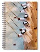 Traditional Emirati Men's Dance  Spiral Notebook