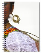 Traditional Ethnic Dancers In Chiapas Mexico Spiral Notebook