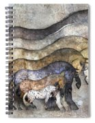 Traditional Horses Spiral Notebook
