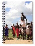 Traditional Samburu Dance Spiral Notebook