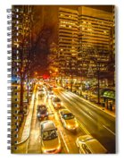 Traffic In A Big City Spiral Notebook