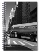 Traffic - New York In Perspective Series Spiral Notebook