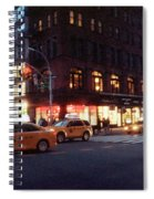 Traffic On The Street At Night, 23rd Spiral Notebook